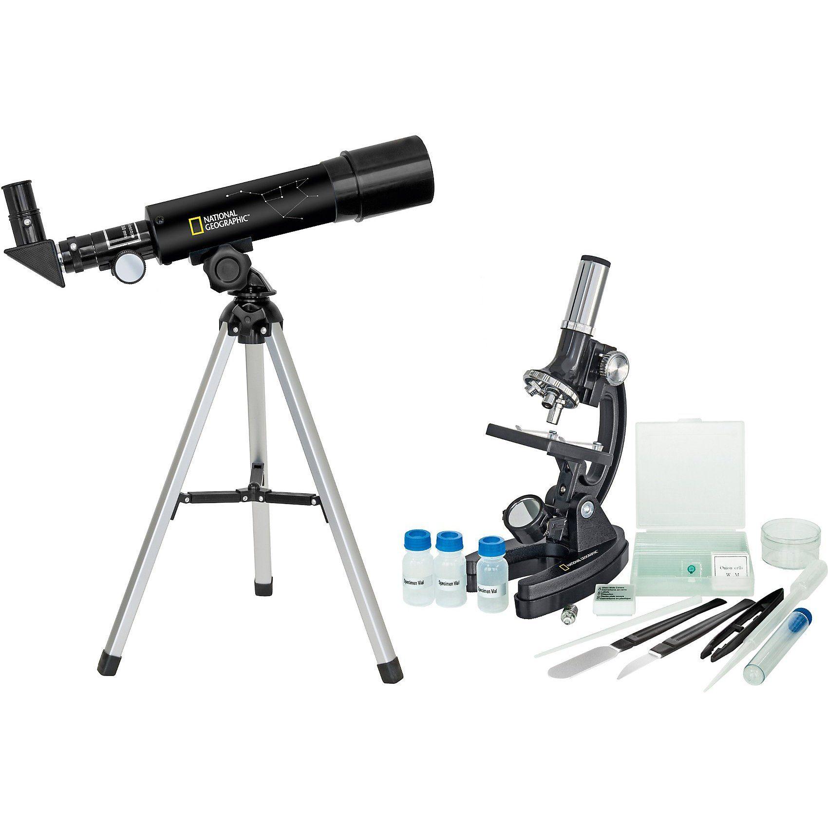 Bresser National Geographic Teleskop/ Mikroskop Set