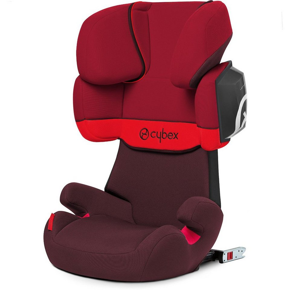 cybex auto kindersitz solution x2 fix silver line rumba red 201 online kaufen otto. Black Bedroom Furniture Sets. Home Design Ideas