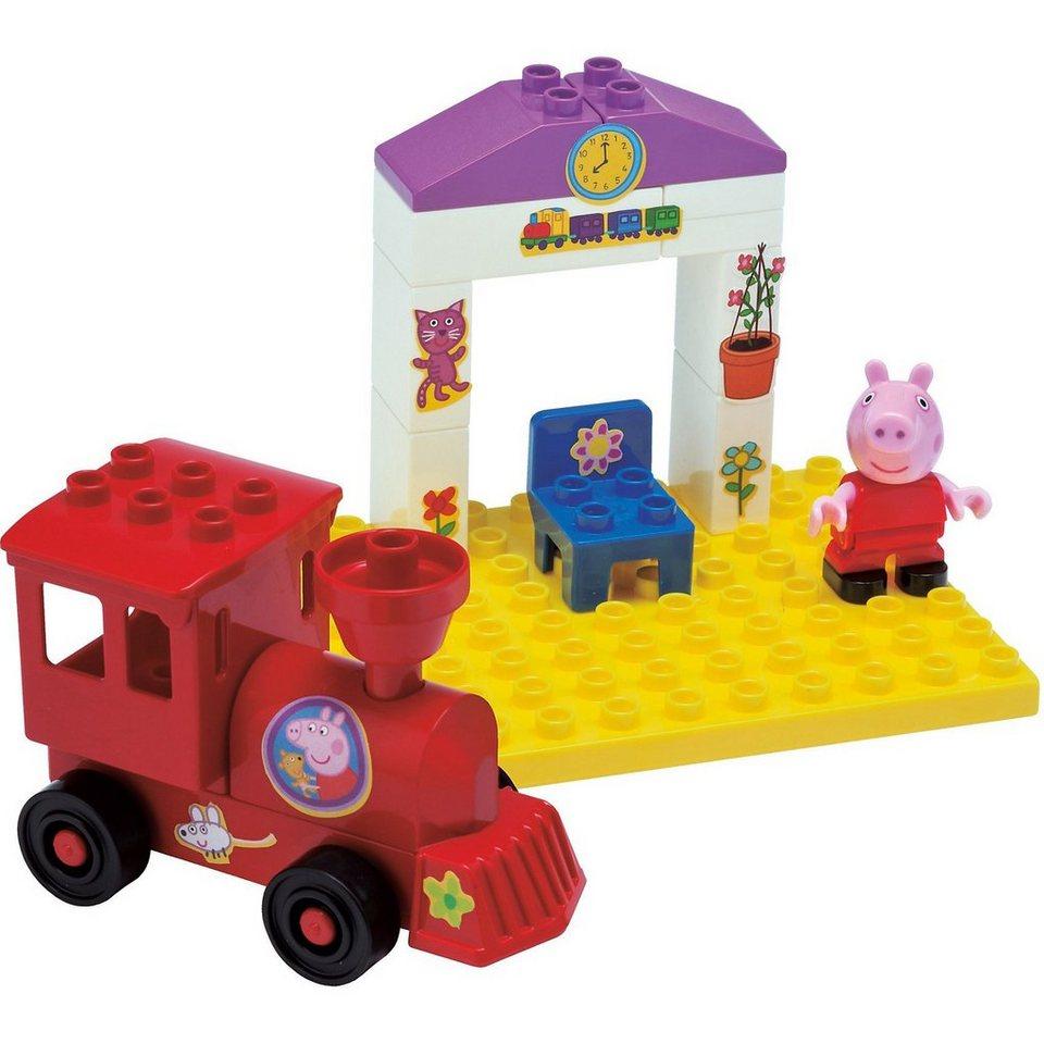 Spielzeug Rund Um Den Neuen Superhelden: BIG Play Bloxx - Peppa Wutz Bahnhaltestelle Kaufen