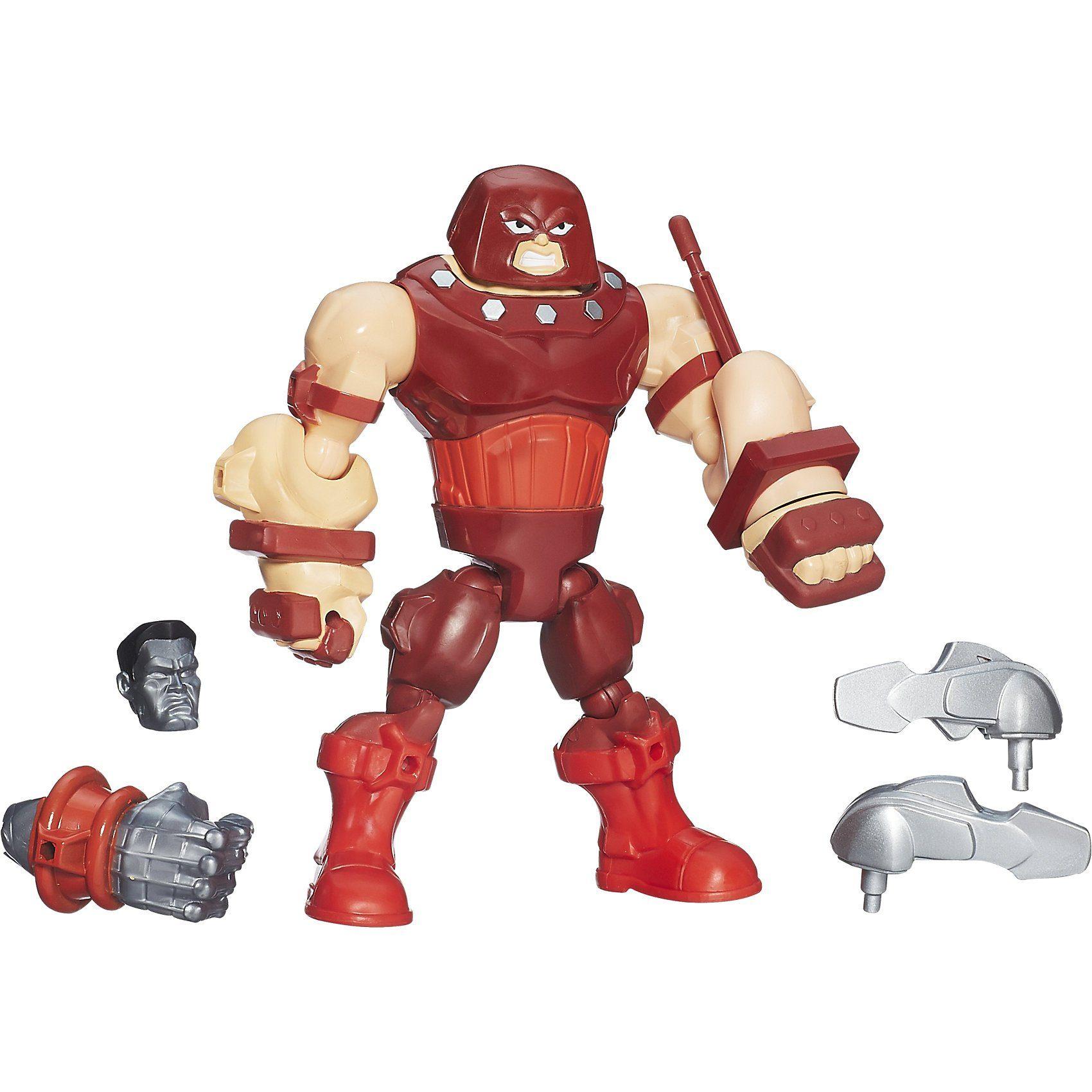 "Hasbro Marvel Super Hero Masher 6"" Deluxe Figur Juggernaut"