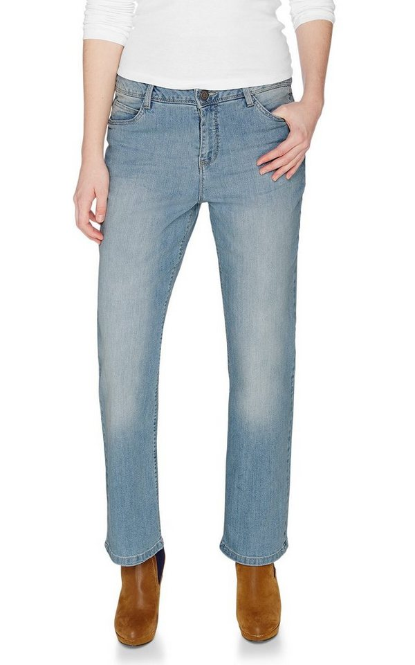 H.I.S Jeans »Coletta, straight leg« in powder blue