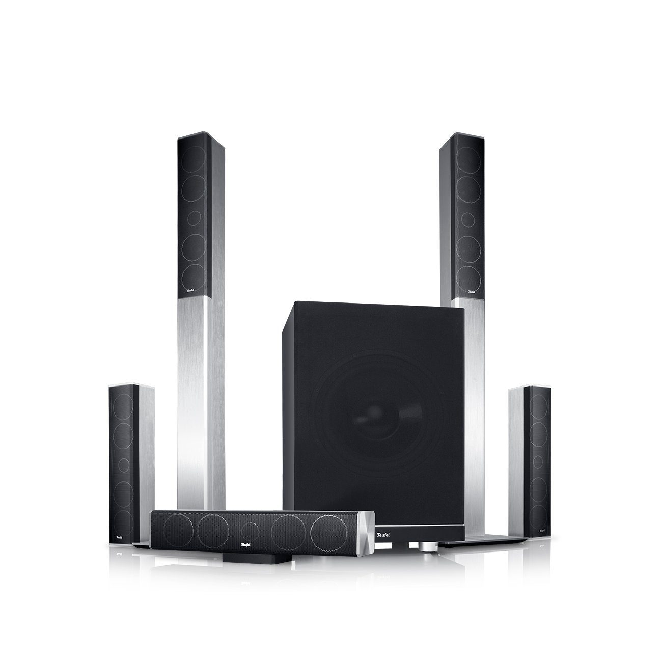 Teufel Heimkino Lautsprecher »LT 4 Power Edition 5.1-Set M«