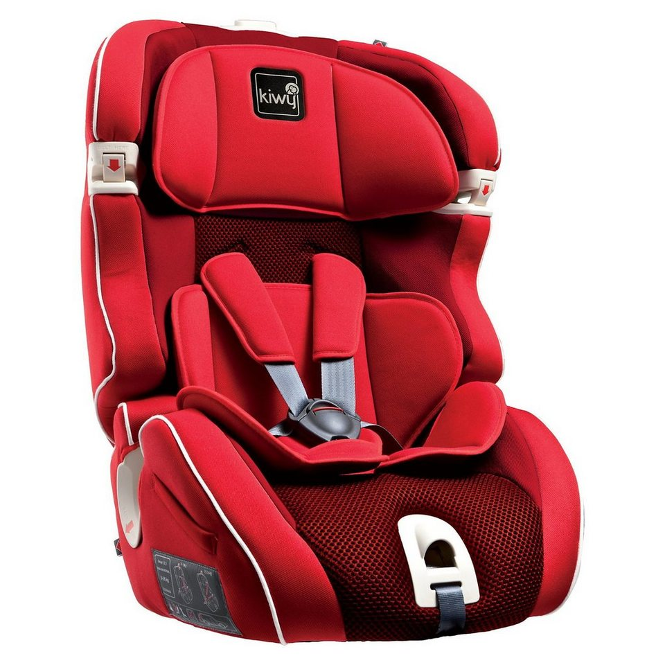 Kiwy Auto-Kindersitz SL123, Cherry, 2016 in rot