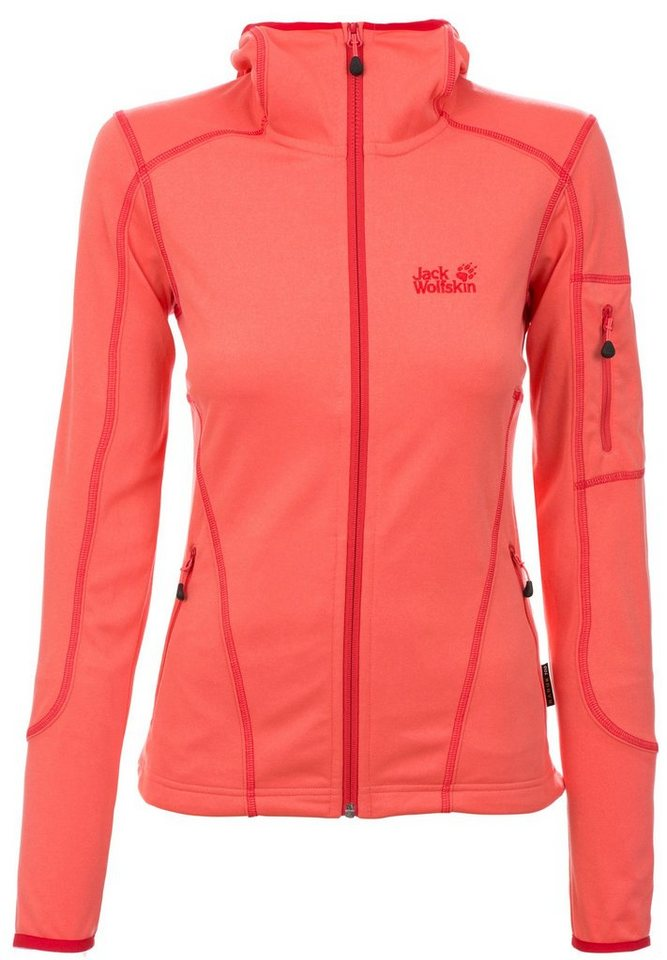 Jack Wolfskin Outdoorjacke »Rock Bar Jacket Women« in orange