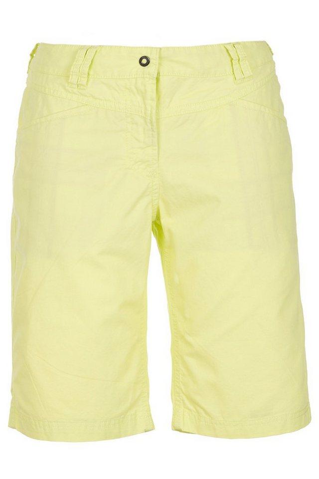 Jack Wolfskin Hose »Yoke Shorts Women« in gelb