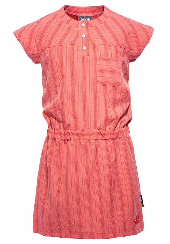 Jack Wolfskin Anzug »Airy Summer Dress Girls« in pink