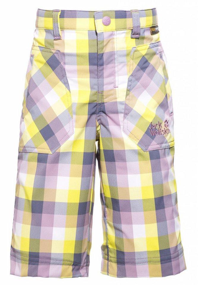 Jack Wolfskin Hose »Cube Shorts Kids« in lila