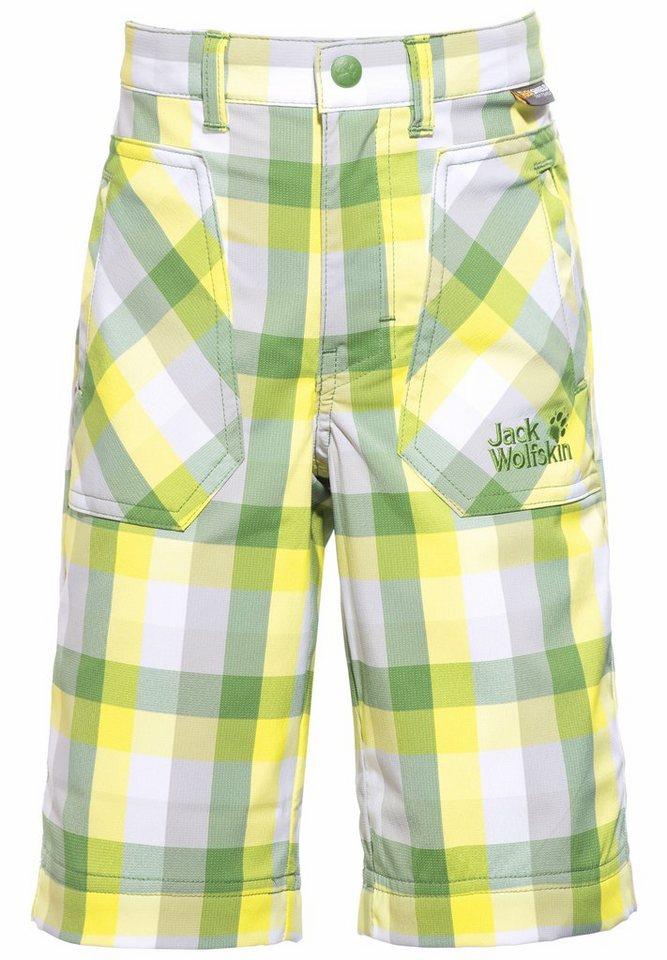 Jack Wolfskin Hose »Cube Shorts Kids« in grün