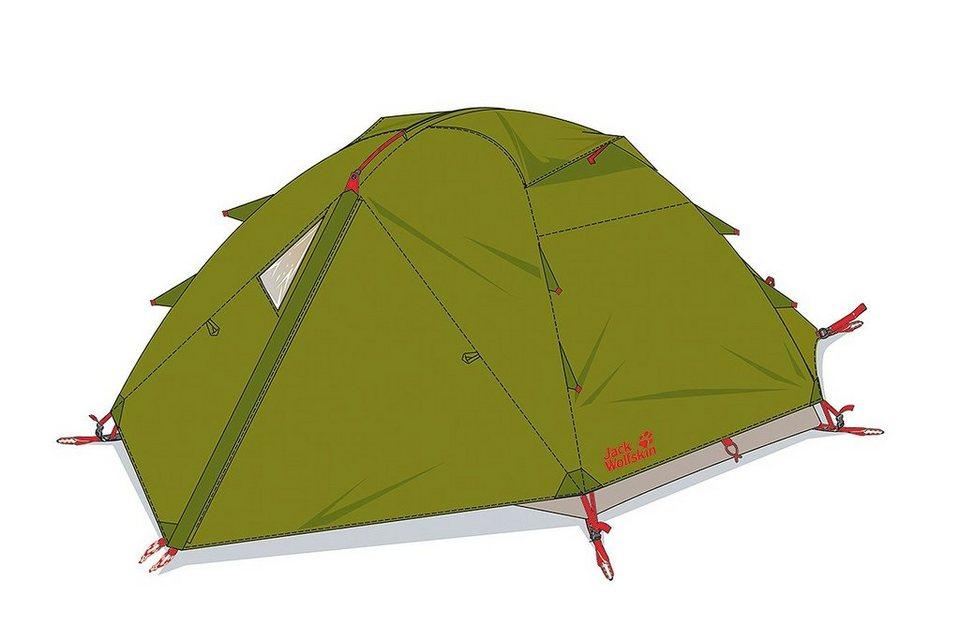 Jack Wolfskin Zelt »Eclipse III Tent« in grün
