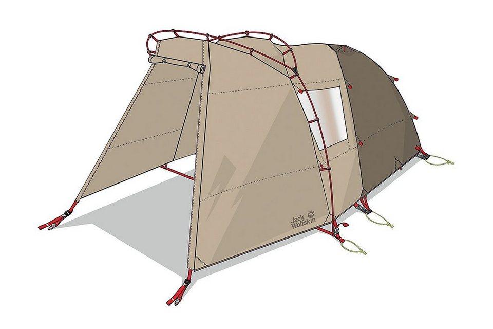Jack Wolfskin Zelt »Grand Illusion IV Tent« in beige