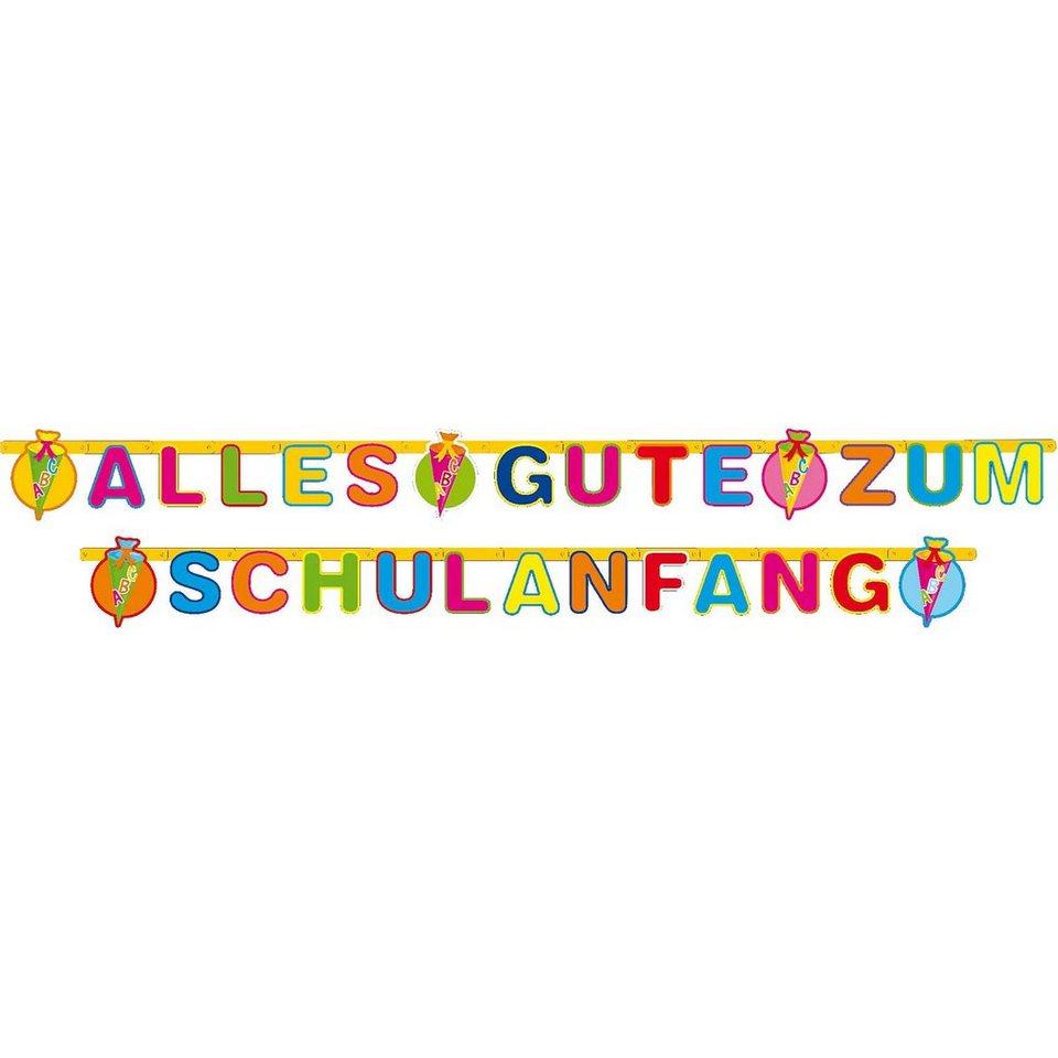 """Riethmüller Girlande: """"Alles Gute zum Schulanfang"""""""
