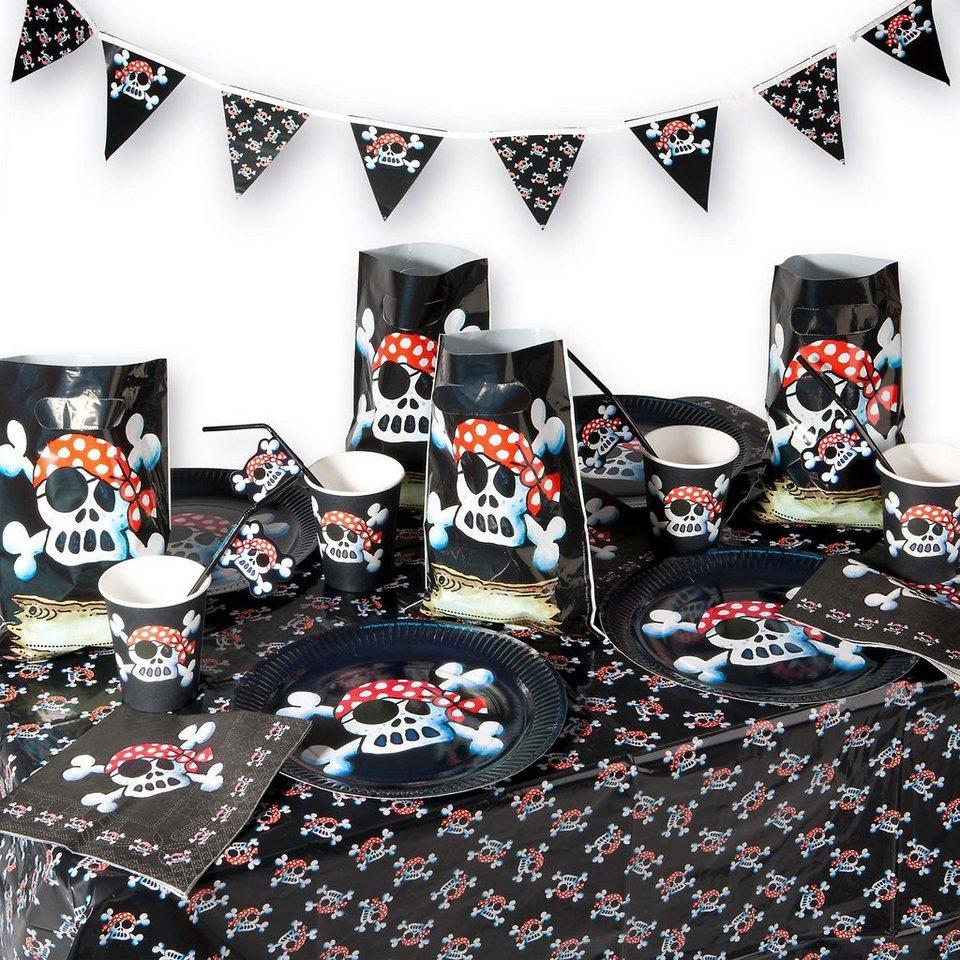 Lutz Mauder Verlag Party-Set Pirat Pit Planke 54-tlg,