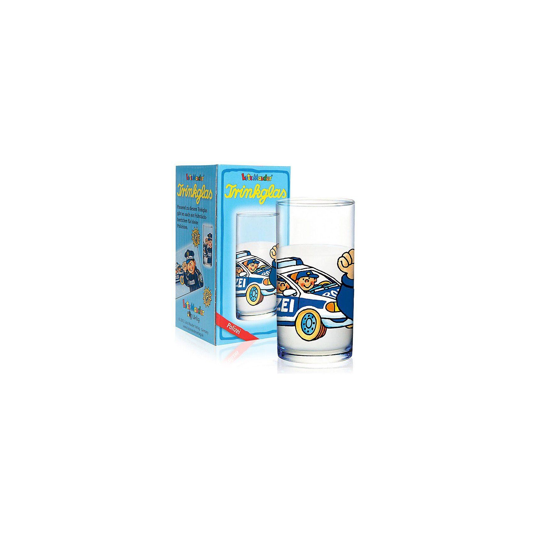 Lutz Mauder Verlag Trinkglas Paul der Polizist