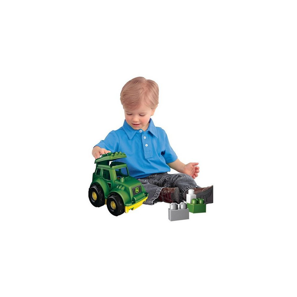 MEGA BLOKS First Builders John Deere Traktor