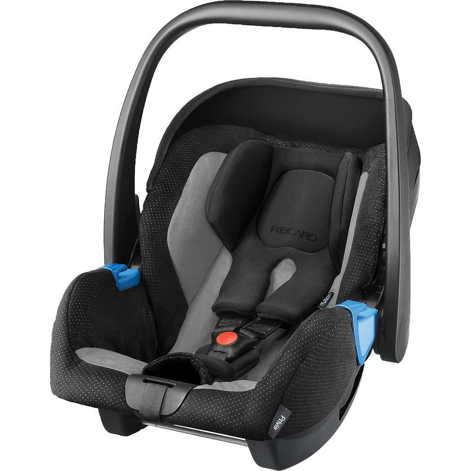 RECARO Babyschale Privia, Graphite in schwarz/grau