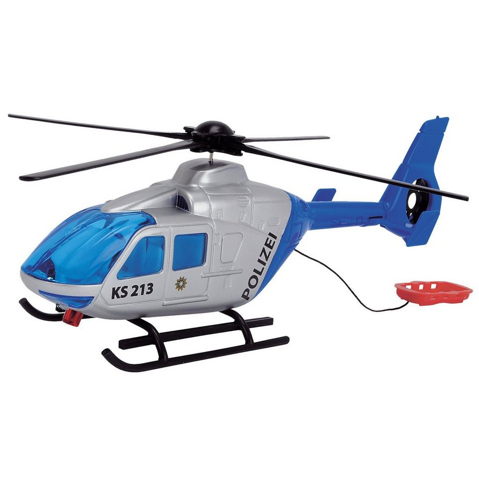 Dickie Toys Polzei Helikopter, deutsche Version