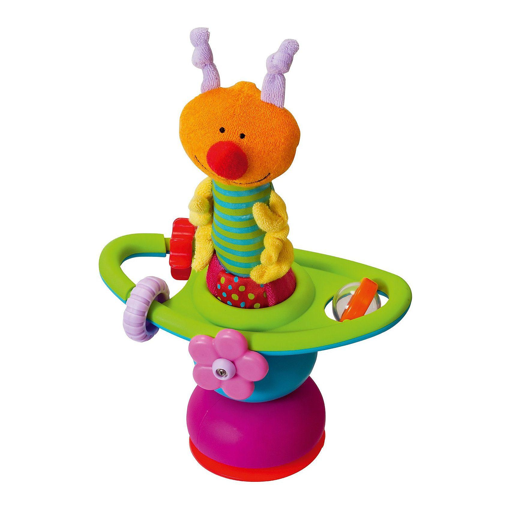 TAF TOYS 10915 Hochstuhlspielzeug Mini Tischkarussel