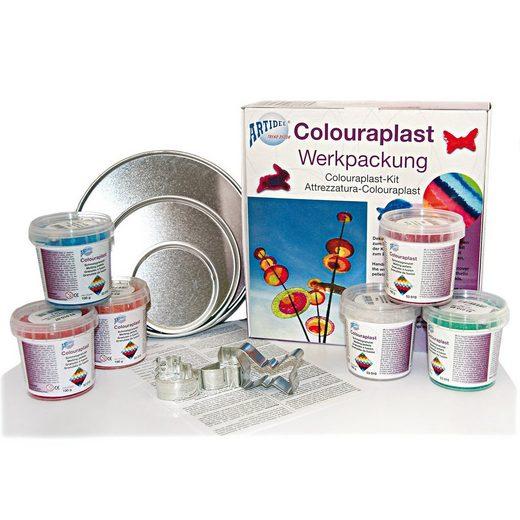 EDUPLAY Colourplast Schmelzgranulat Werkpackung