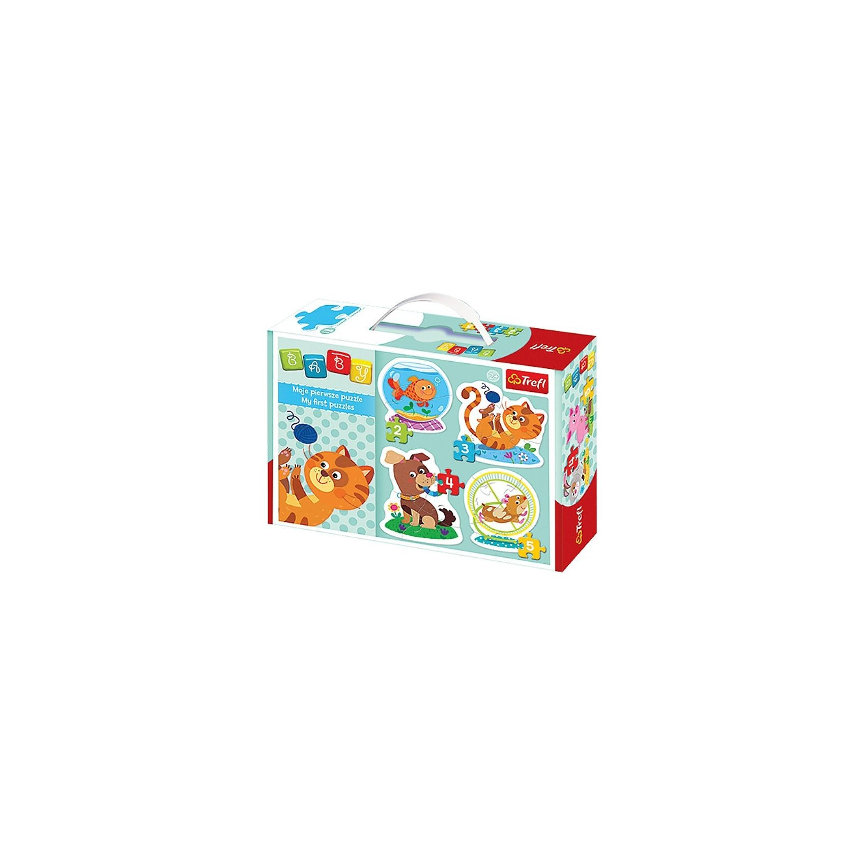 Trefl Baby Puzzle - Tiere