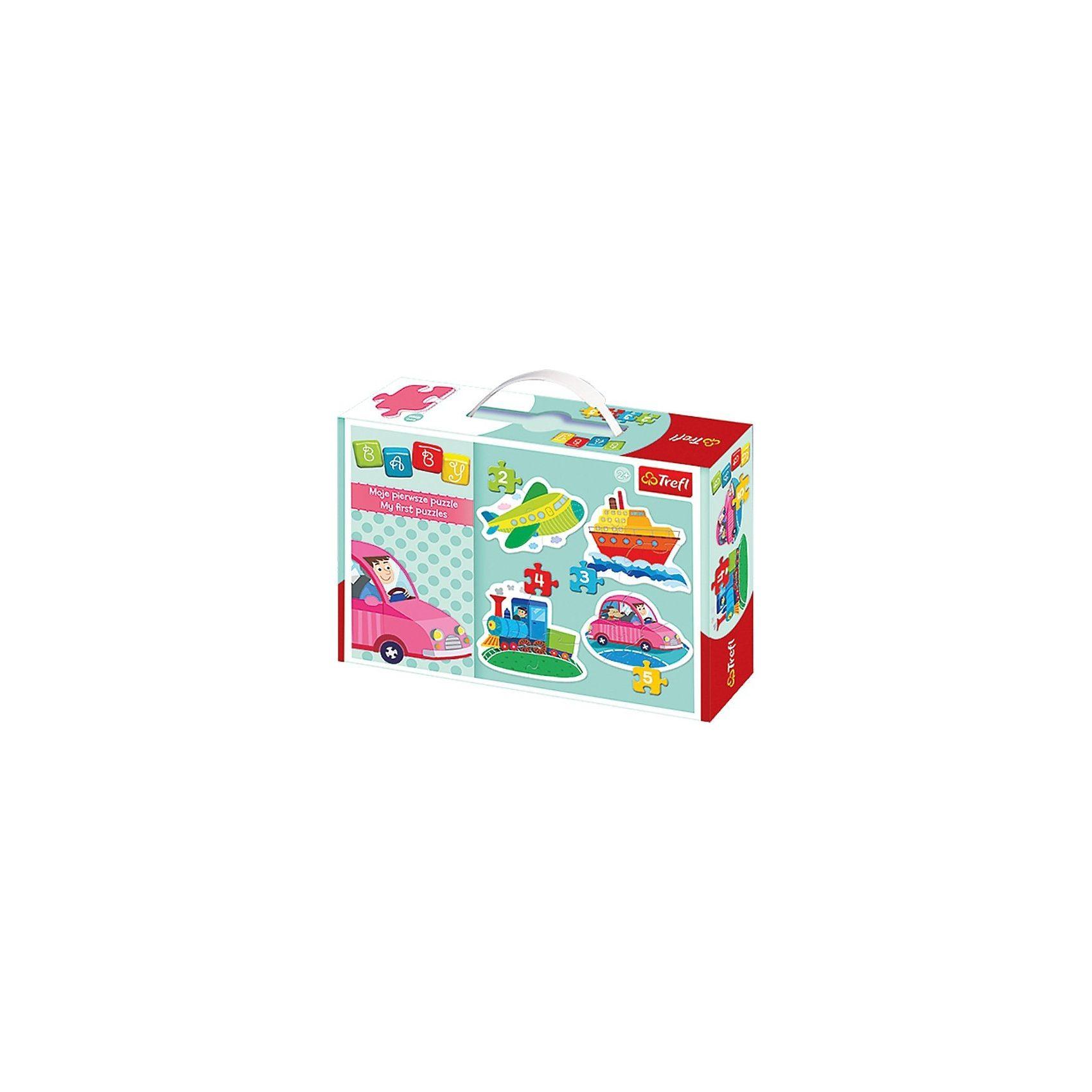 Trefl Baby Puzzle - Fahrzeuge