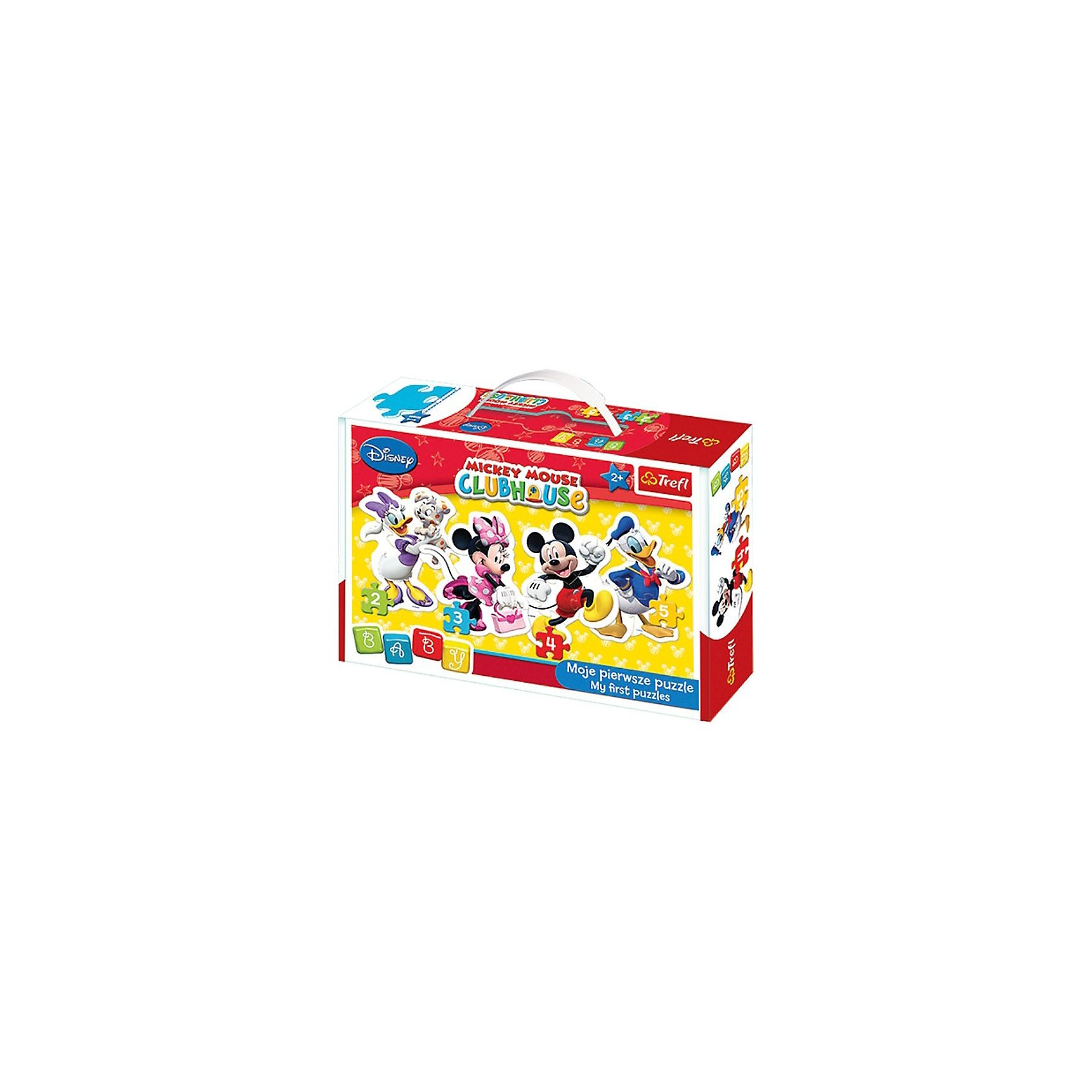 Trefl Baby Puzzle - Mickey Mouse