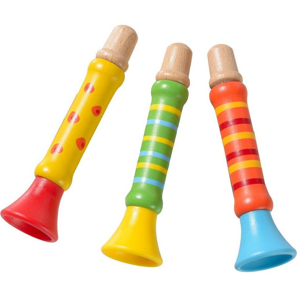 Eduplay Trompete Holz, 3 Stück