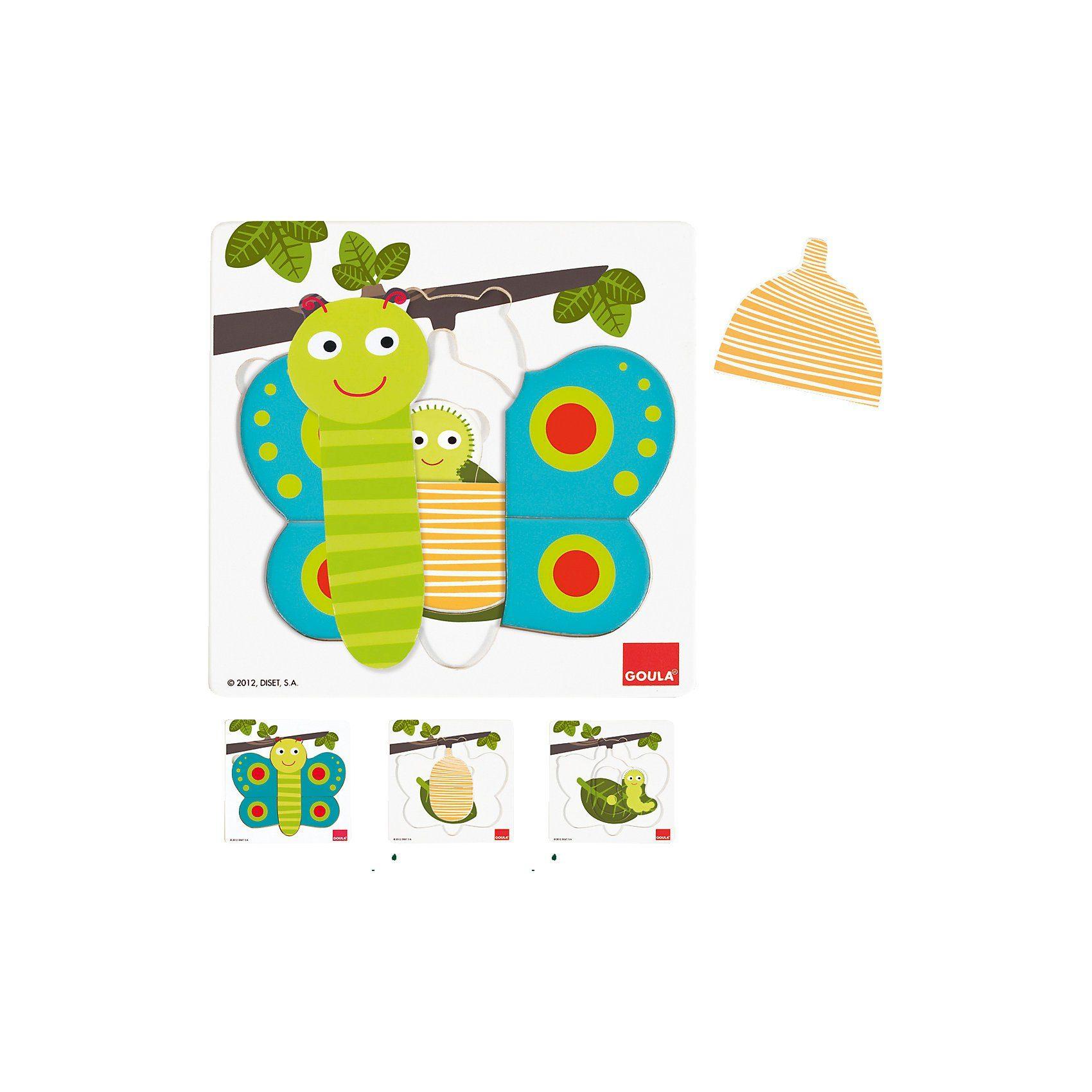 Goula Puzzle Schmetterling