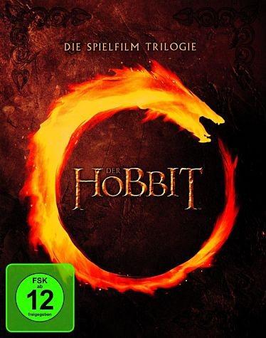 Blu-ray »Der Hobbit - Die Spielfilm-Trilogie (6 Discs)«