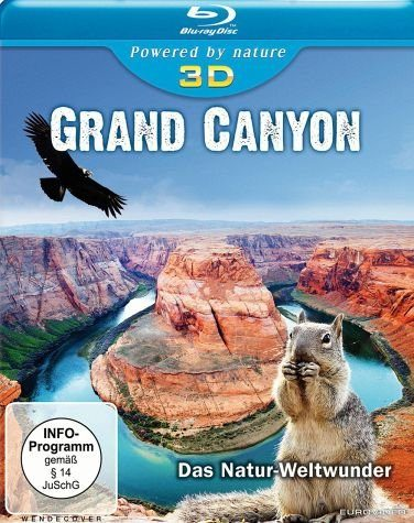 Blu-ray »Grand Canyon 3D - Das Natur-Weltwunder...«
