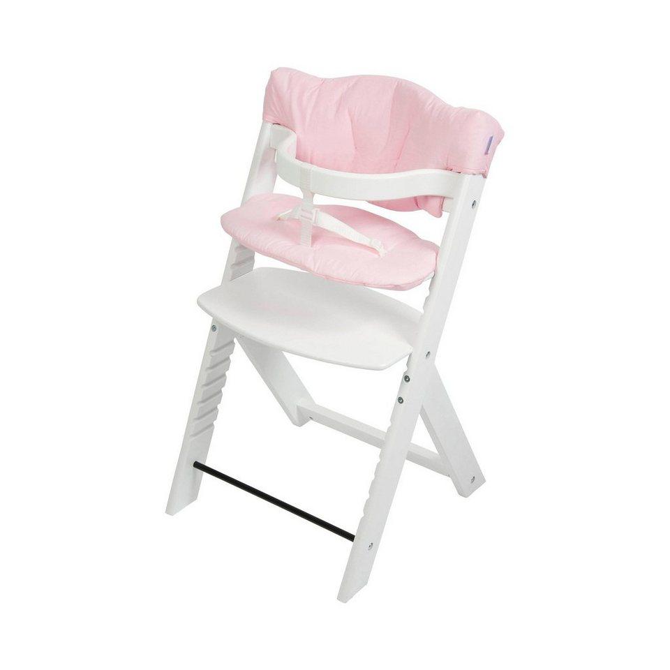 FILLIKID Hochstuhlauflage Max in rosa