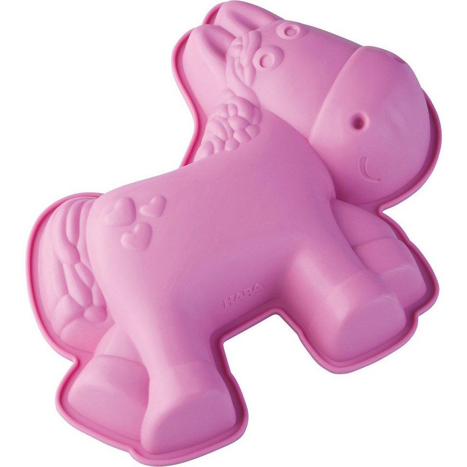Haba Silikonkuchenform Pferd Milly