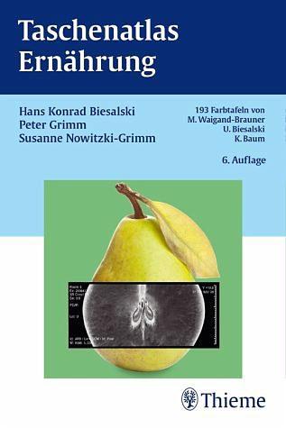 Broschiertes Buch »Taschenatlas Ernährung«