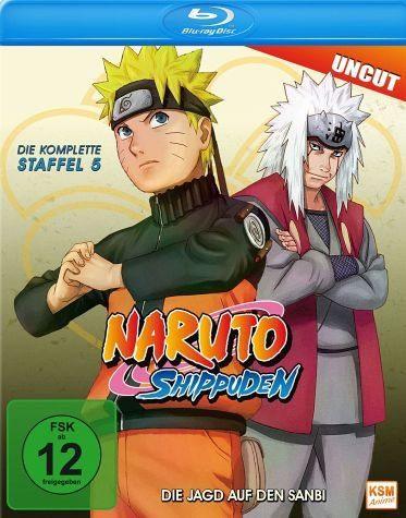 Blu-ray »Naruto Shippuden - Die komplette Staffel 5...«