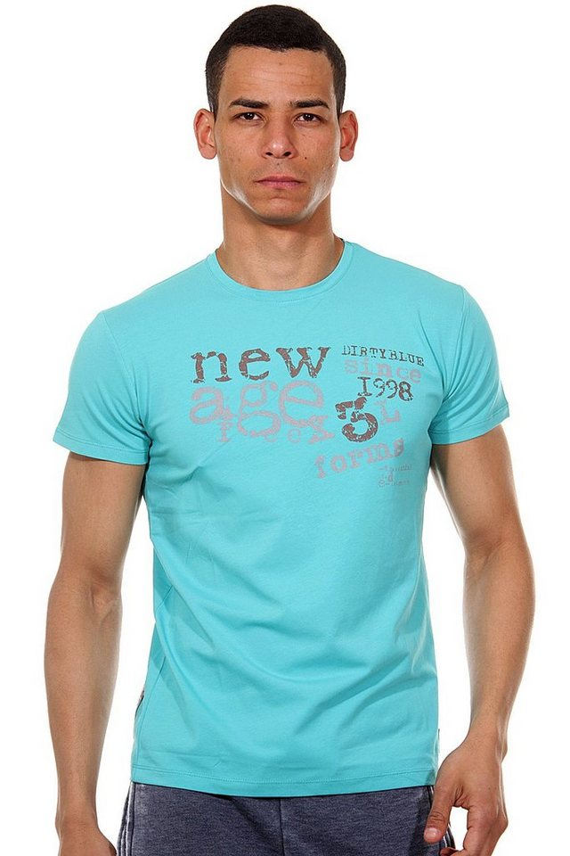 R-NEAL T-Shirt Rundhals slim fit in mint