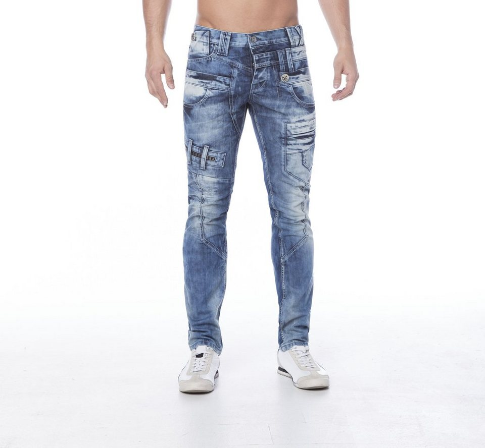 Cipo & Baxx Stylische Jeans - CD119 in STANDARD