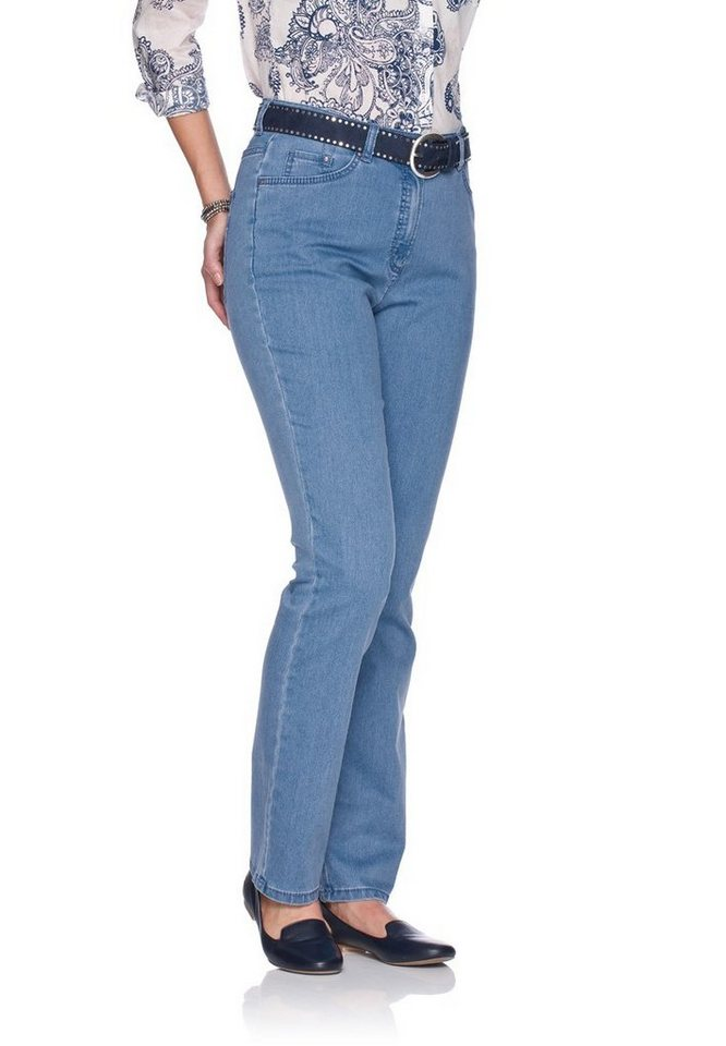 RAPHAELA by BRAX Jeans »ROSA WEAVE« in BLEACHED