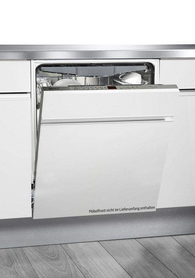 Neff Vollintegrierbarer Einbaugeschirrspüler GV 570, A+++, 9,5 Liter, 14 Maßgedecke in weiß