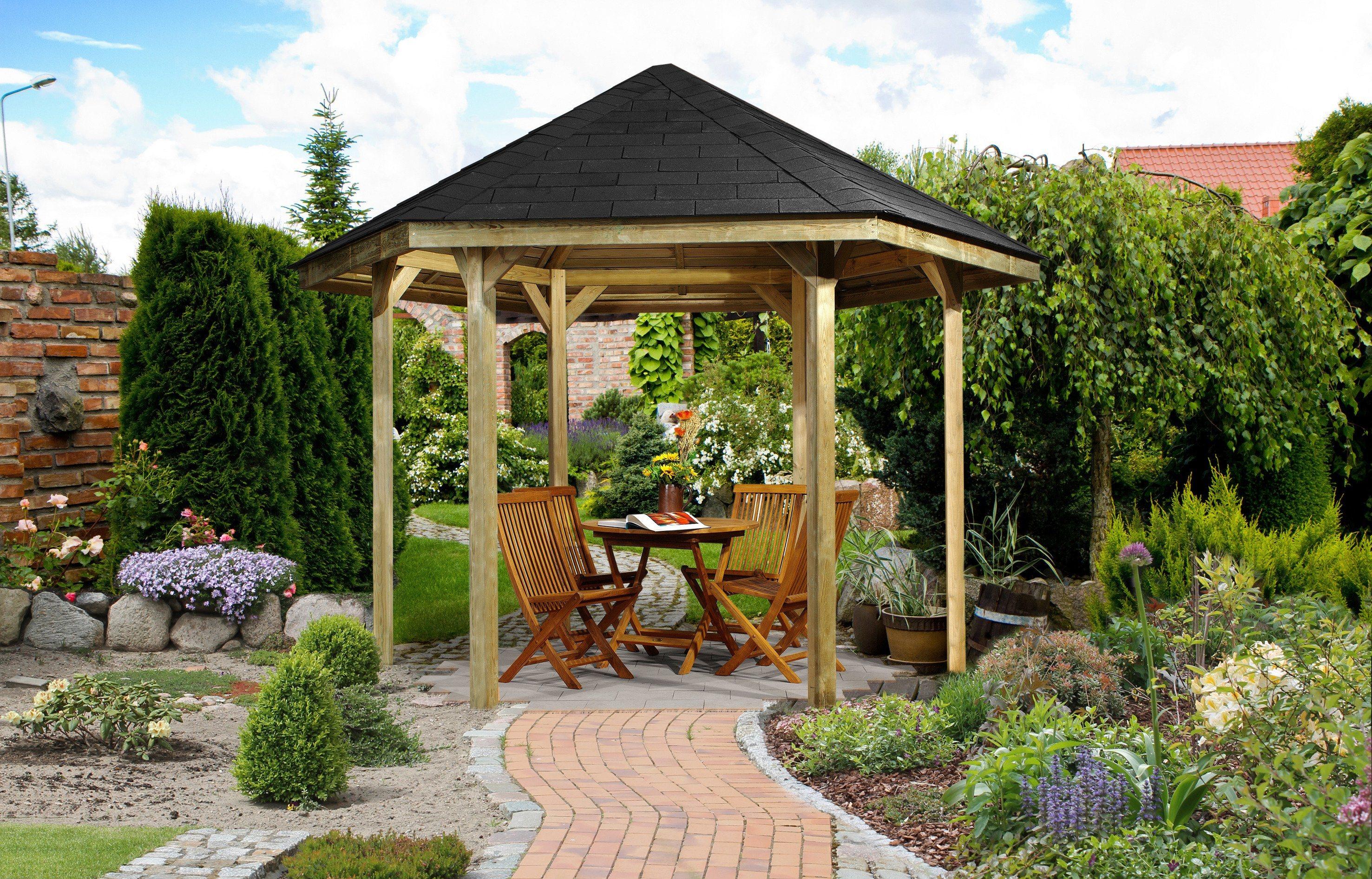 Weka Pavillon »Paradies 1«   Garten > Pavillons   weka