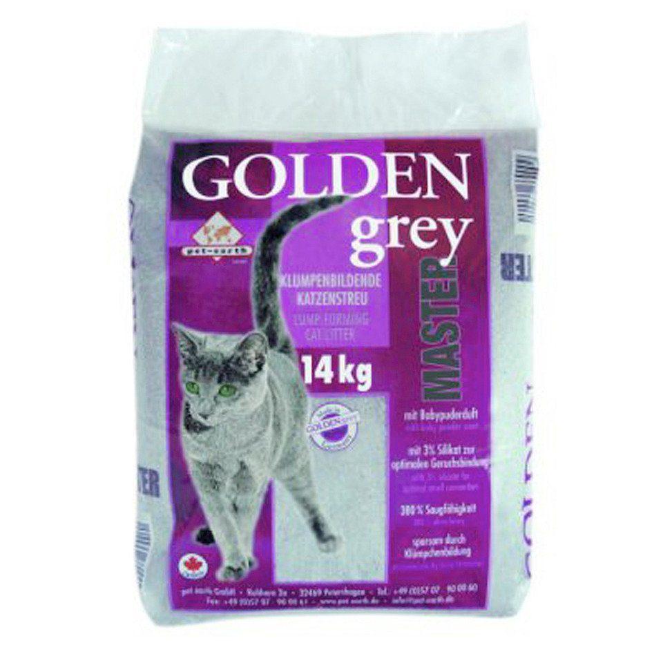 PET-EARTH Katzenstreu »Golden Grey Master ( 14 Kg )«