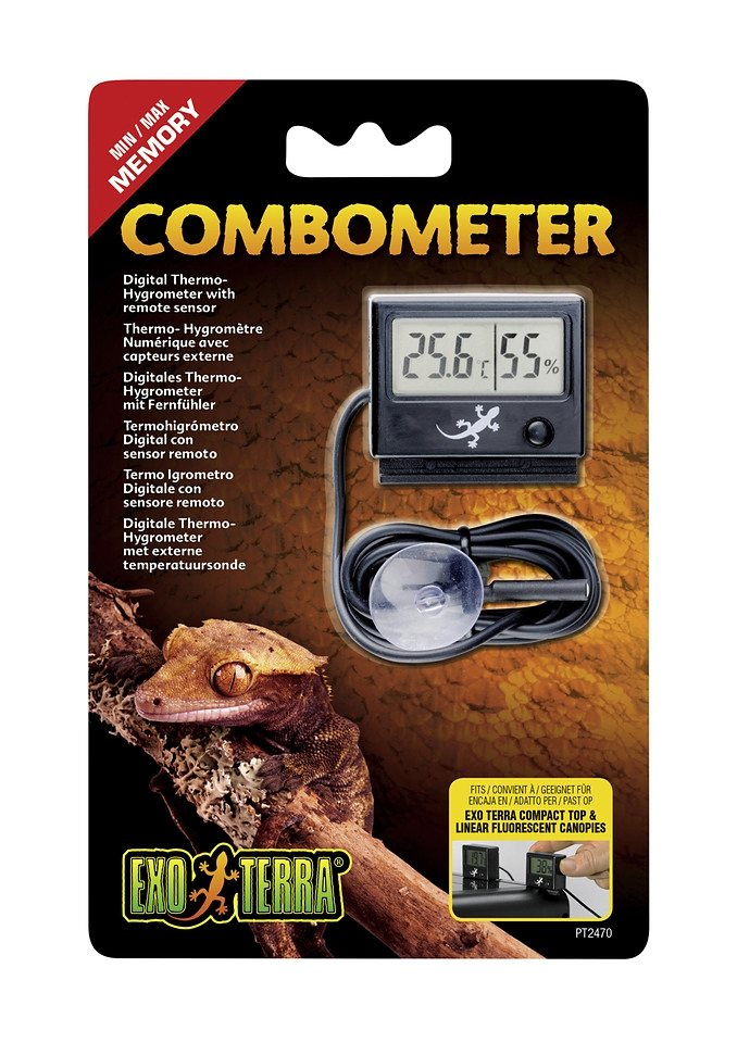Thermometer »Hygrometer« in schwarz
