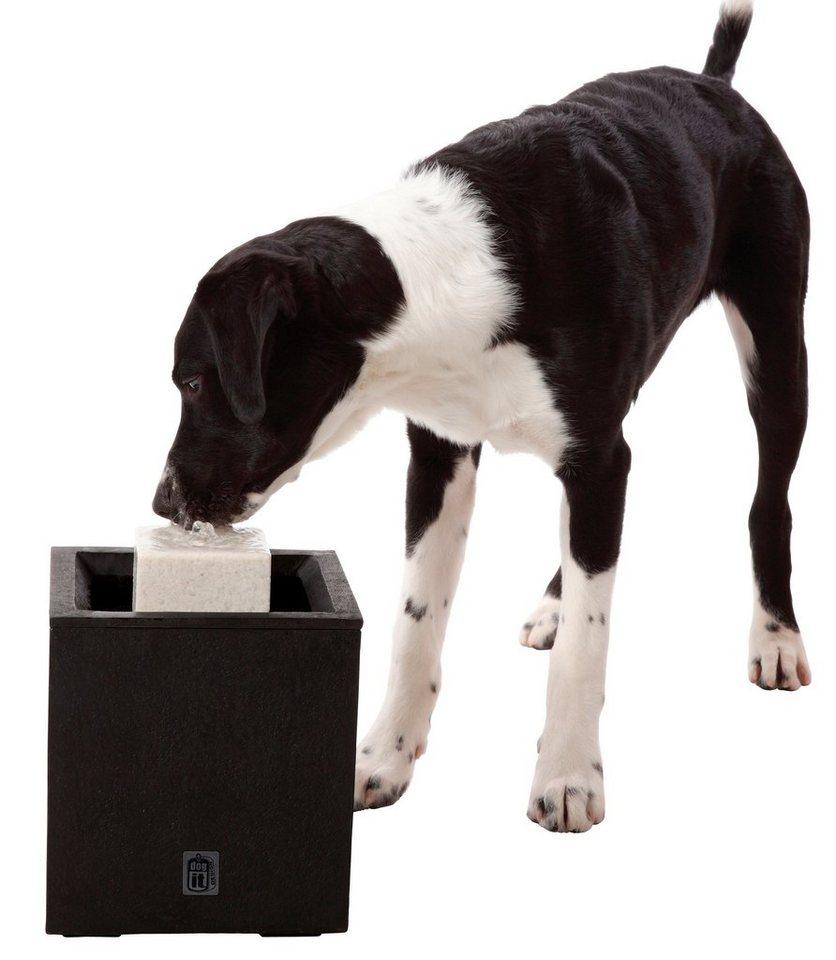 Hunde-Trinkbrunnen »Al Fresco« in schwarz
