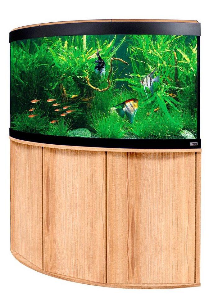 Fluval Aquarien-Set »Venezia 350« in buchefarben