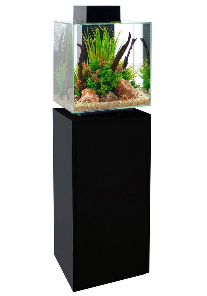aquarien unterschrank manitoba in schwarz kaufen otto. Black Bedroom Furniture Sets. Home Design Ideas