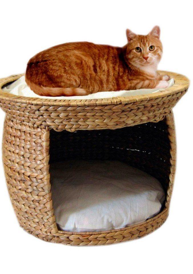 katzen bett wasserhyazinthe online kaufen otto. Black Bedroom Furniture Sets. Home Design Ideas