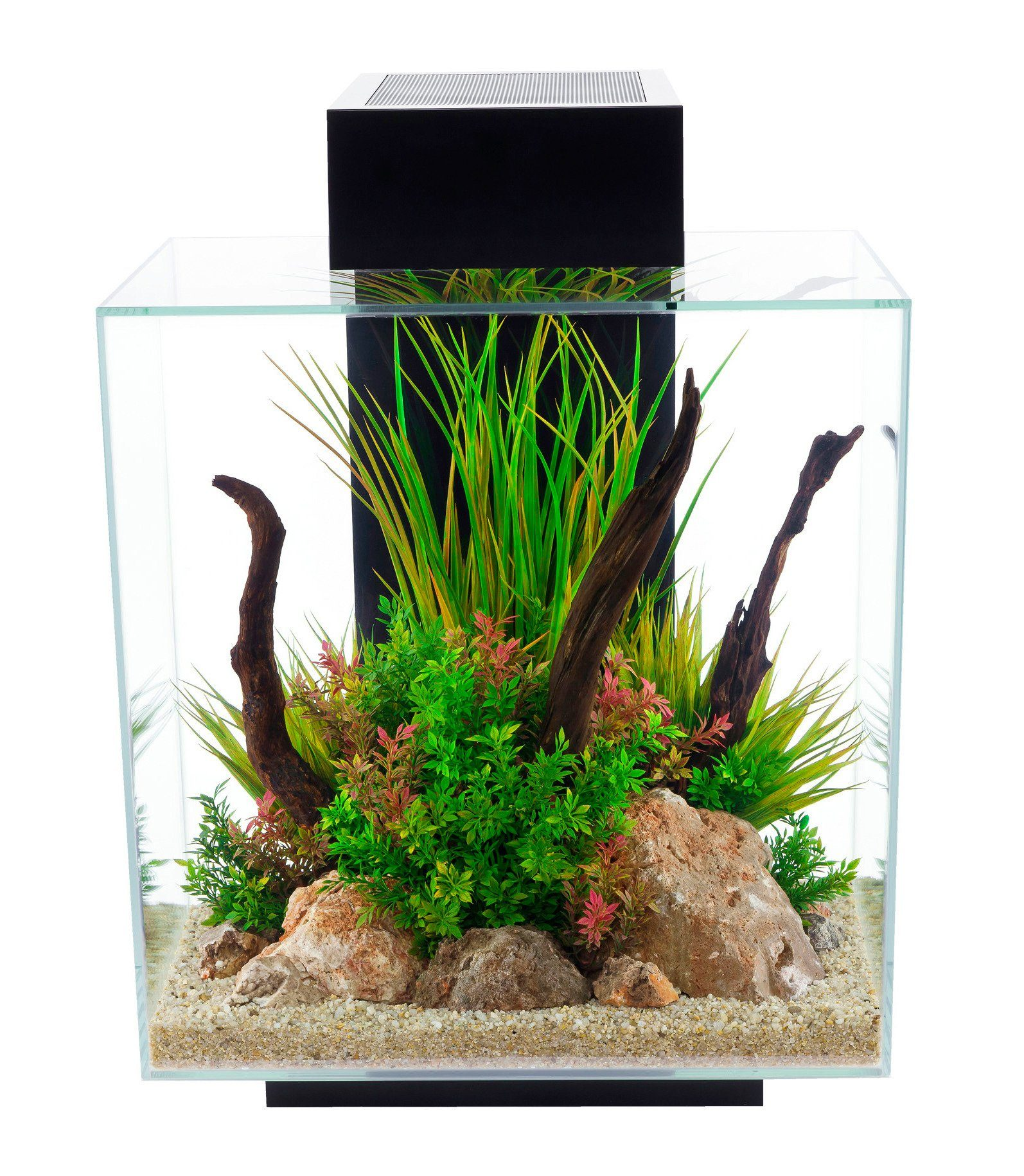FLUVAL Aquarium »Nano-Edge II«, 46 Liter, BxTxH: 43x26x59,5 cm