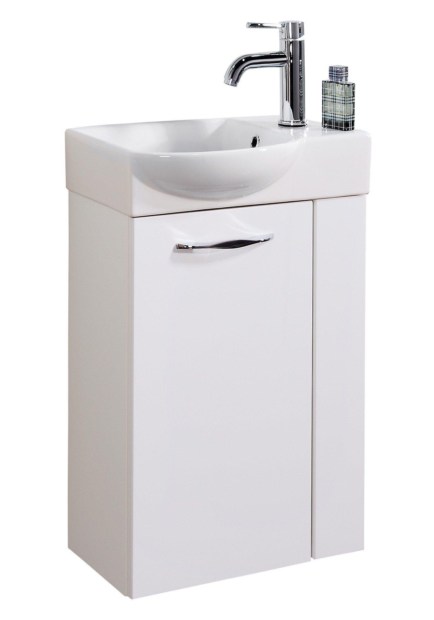 Mini-Gäste-WC-Lösung »SCENO «, Breite 45 cm, Tiefe 32 cm (2-tlg.)