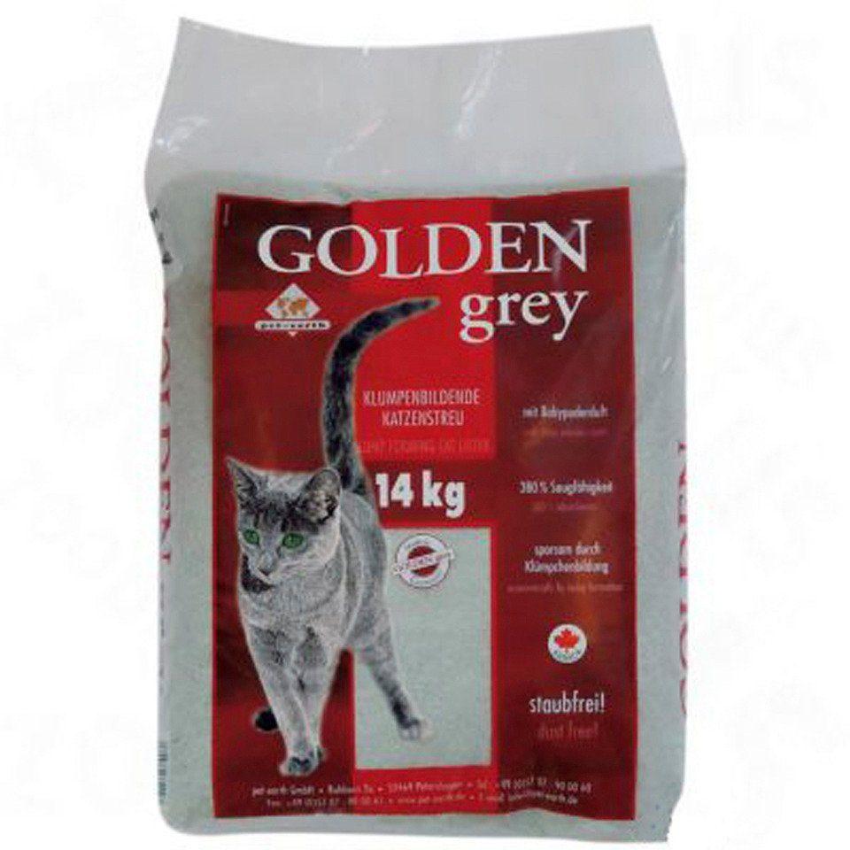 Katzenstreu »Golden Grey ( 14 Kg )«