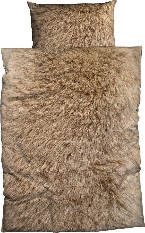 Bettwäsche Animal Fur Casatex Mit Felloptik Otto