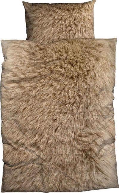 Bettwäsche »Animal Fur«, CASATEX, Mit Felloptik