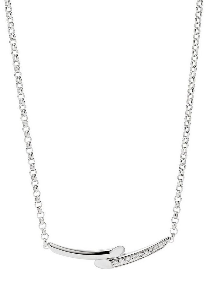 Fossil Kette, »Sterling Silver, JFS00303040« in Silber 925